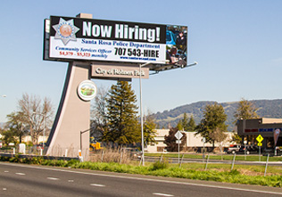 Digital Billboard Rohnert Park